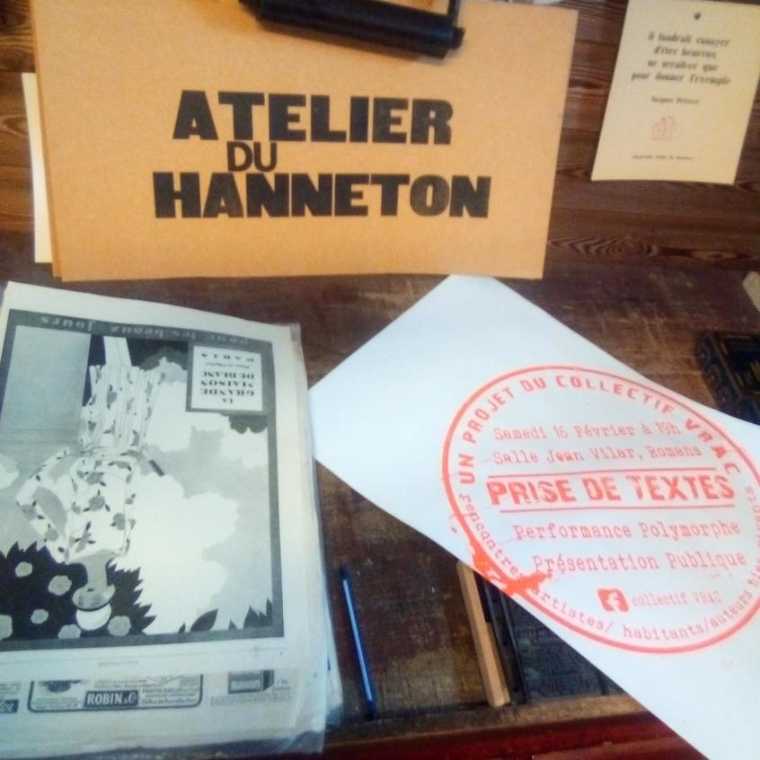 Atelier du Hanneton (Charpey 26)
