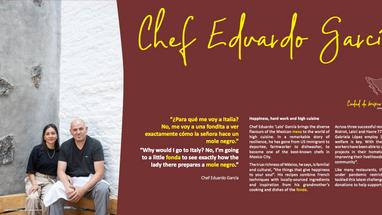 Chef Eduardo García