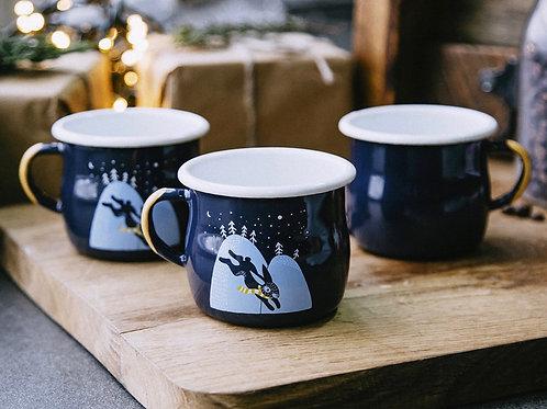 Tasse à café en acier LE LABO DE PIWI