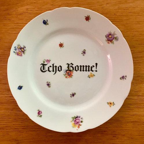 """Assiette """"Tcho Bonne"""""""