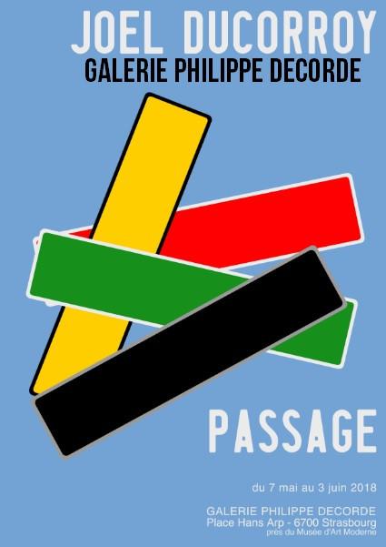 "Exposition ""Passage"" Joel DUCORROY"