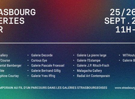 STRASBOURG GALERIES TOUR