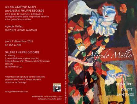 Alfredo Müller : Présentation & Signature Catalogue