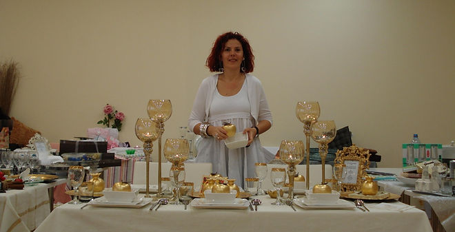 אורלי הראל מרצה בכנס מנהלות כלי בית