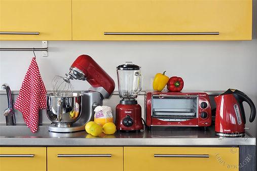 סטיילינג לצילומים של מוצרי חשמל למטבח