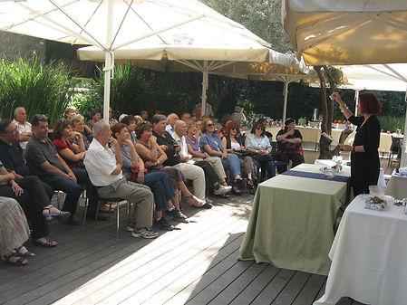המשתתפים בהרצאה לראש השנה