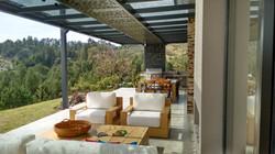 terraza con pérgola en medellin