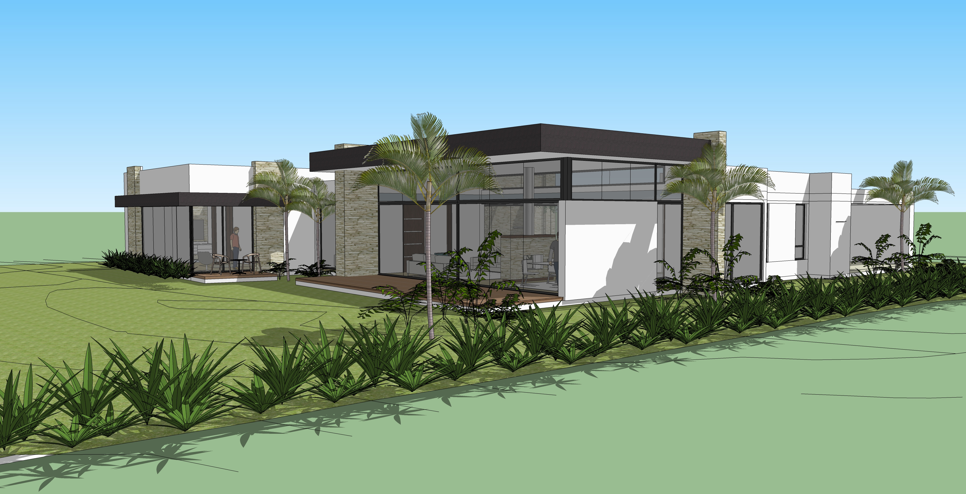 3D casa en alto de las palmas