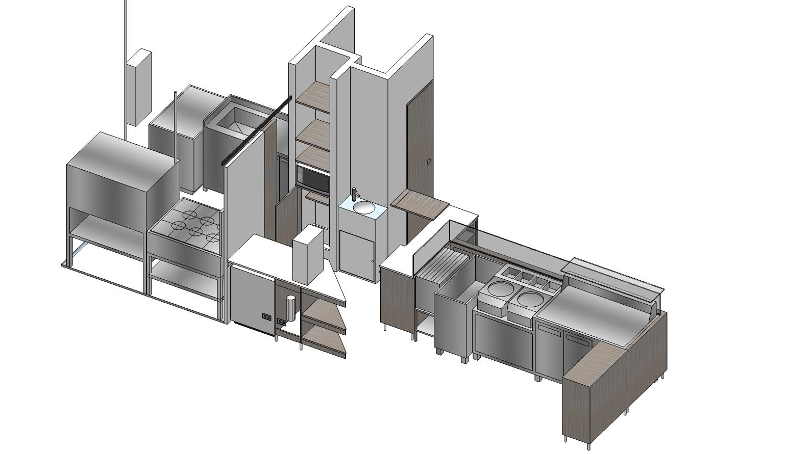 3D mobiliario e instalaciones