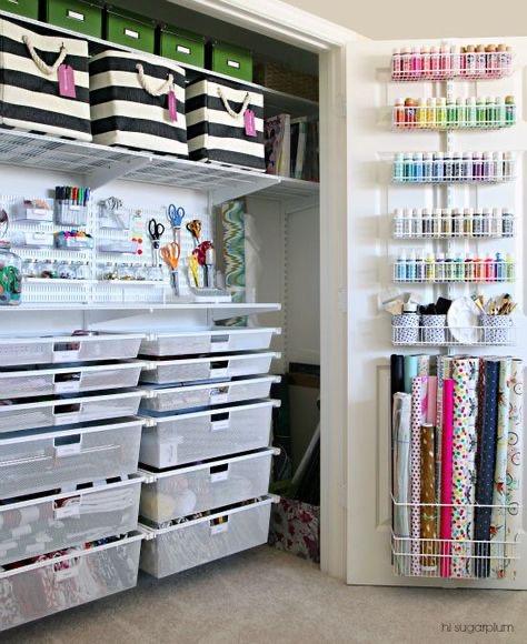 .craft closet.