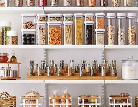 My Favorite Organizing Products Series : Part 2 - Pantry, Fridge + Freezer
