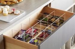 .pantry drawer inserts.
