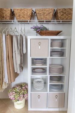 .dining room storage.