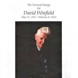 David Winfield's Obit:  February 2020
