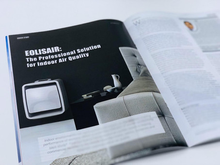 Eolisair is featured in Clean Middle East Magazine!