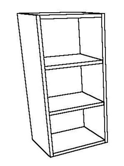 Open Wall Unit 2 Shelves