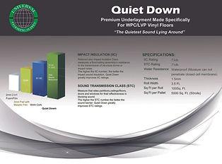 UFS Quiet-Down-Underlayment