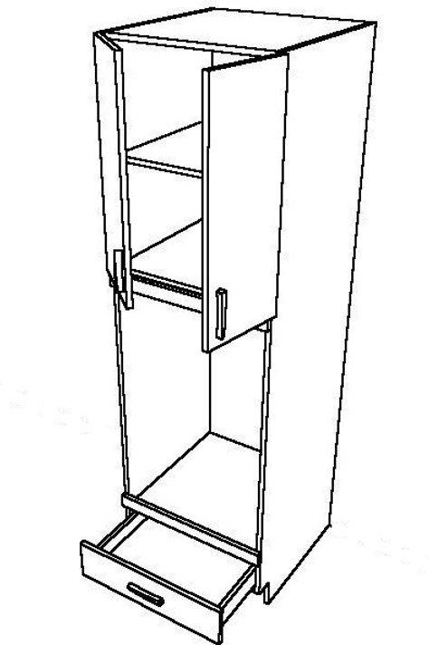 2 Swing Doors 1 Drawer Unit_2