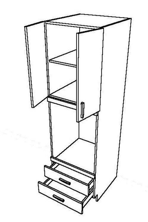 2 Swing Doors, 2 Drawers Oven Unit