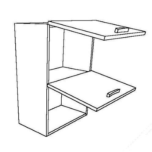 2 Folding Doors Wall Unit