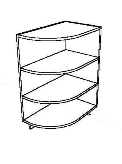 Open Base Cabinet