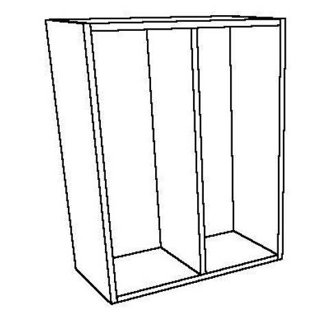 Open Wall Unit 1 Vertical Shelf
