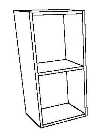 Open Wall Unit 1 Shelf