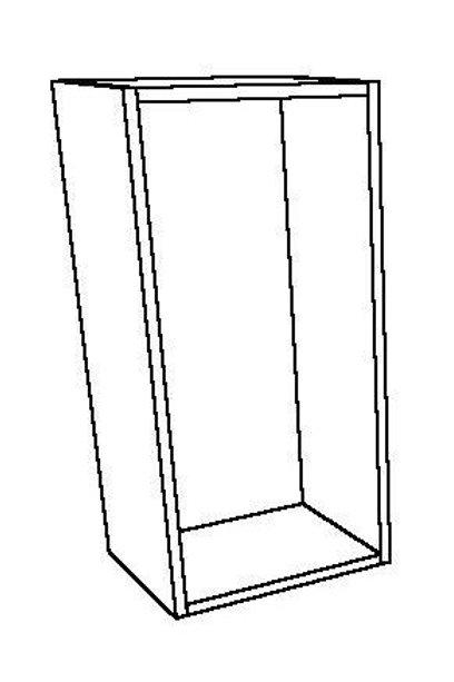 Open Wall Unit 0 vertical Shelf