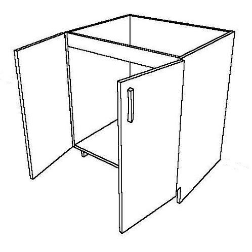 No False Drawer Sink Base Cabinet