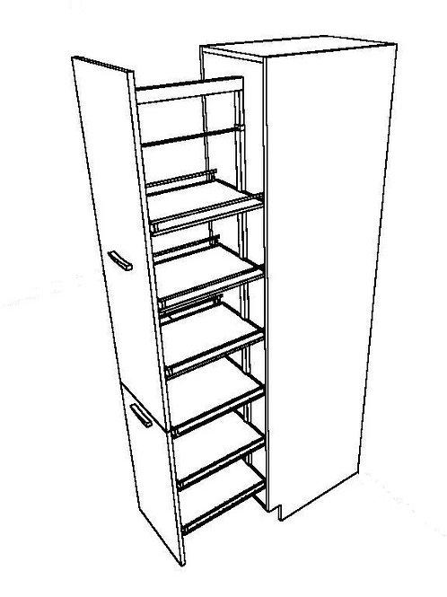 2 Pieces Basket Tall Unit_2_2