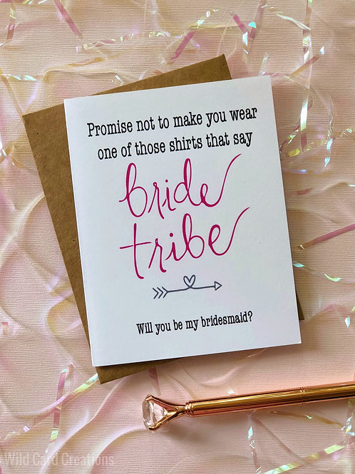 Bride Tribe Bridesmaidposal