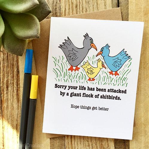 Shitbird Encouragement