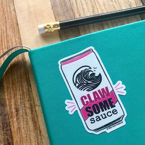 Clawsome Sauce Sticker