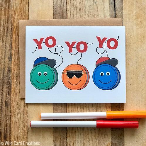 Yo Yo Yo