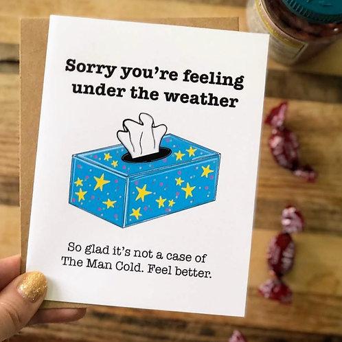 Man Cold Feel Better