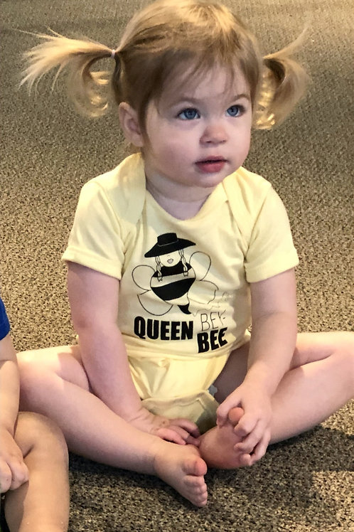 Queen Bey-Bee Onesie
