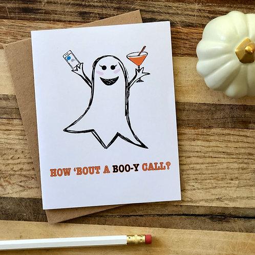 Boo-y Call Halloween