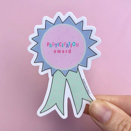 Participation Award Sticker