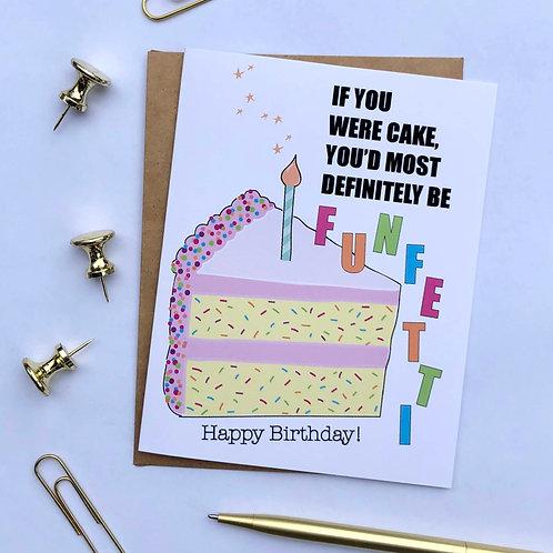 Funfetti Birthday