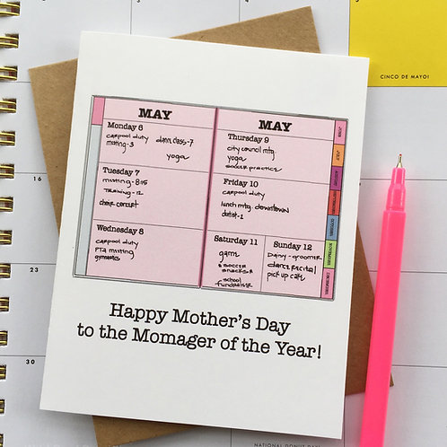 Momager of the Year Mother's Day