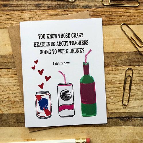 Drunk Teachers