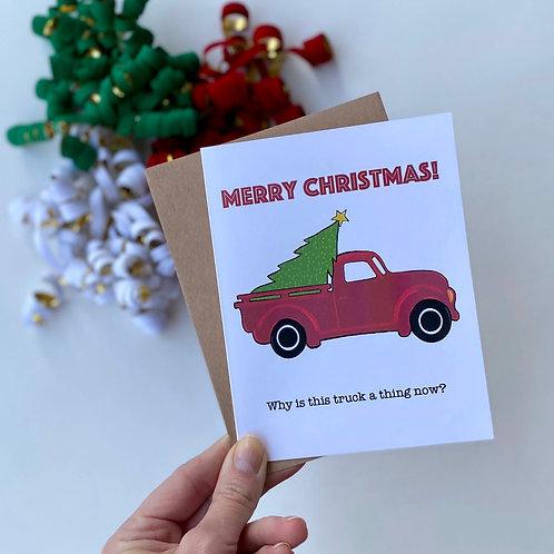 Christmas Truck Greetings