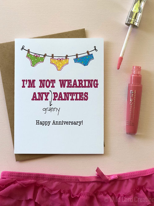 Granny Panties Anniversary