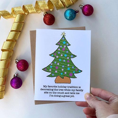 Holiday Tradition Christmas