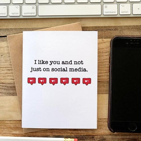 Social Media I Like You