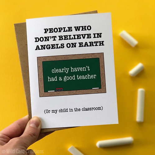 Angel on Earth Teacher Appreciation