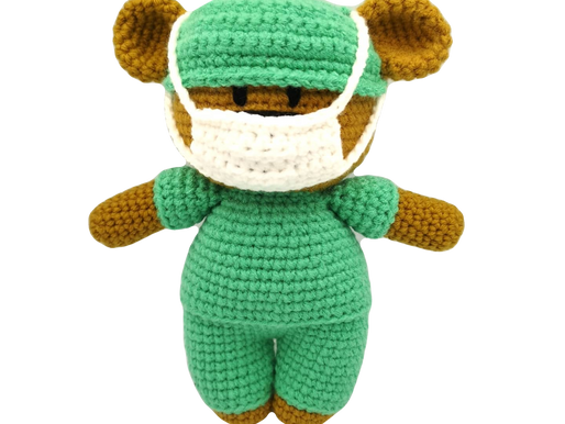 Crochet Bears for NHS Workers