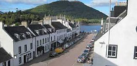 The main street in Inveraray