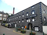 Oban Distillery in the heart of Oban