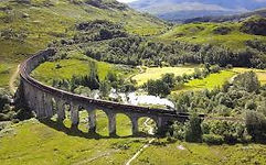 Glenfinnon viaduct on a day trip from Ashfield House